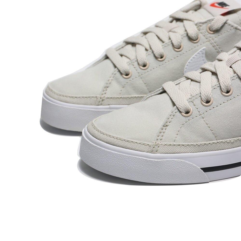 NIKE 休閒鞋 WMNS COURT LEGACY 米白 帆布鞋 女 (布魯克林) CZ0294-002