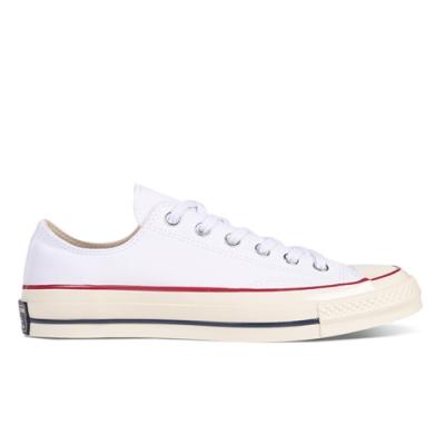 CONVERSE CHUCK 70 男女 低筒休閒鞋 白-162065C