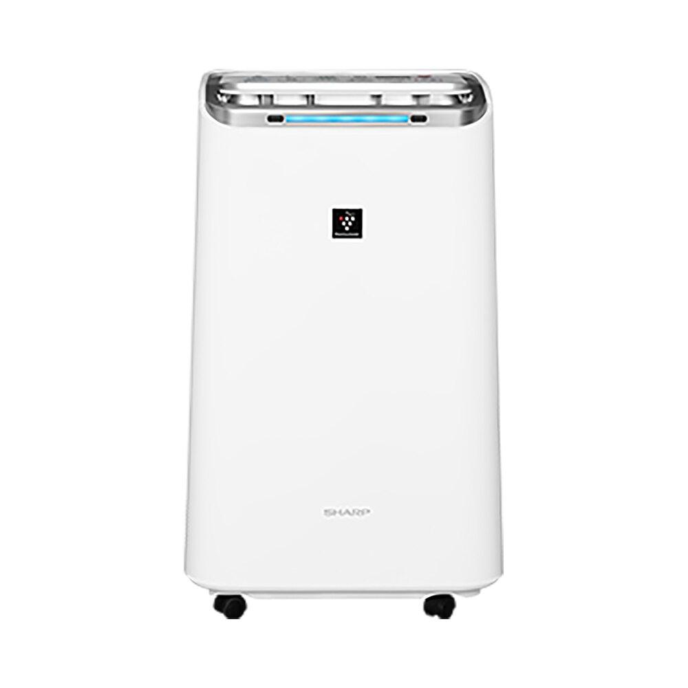【私訊可議】SHARP 夏普 12.0L 自動除菌離子 空氣清淨除濕機 DW-L12FT-W