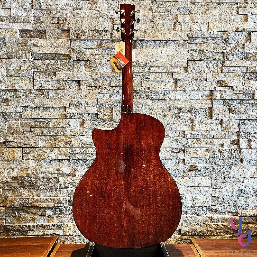 分期免運 贈千元配件 美國 Recording King RGA G6S 全單板 民謠 木 吉他 GA桶身 40吋 漸層
