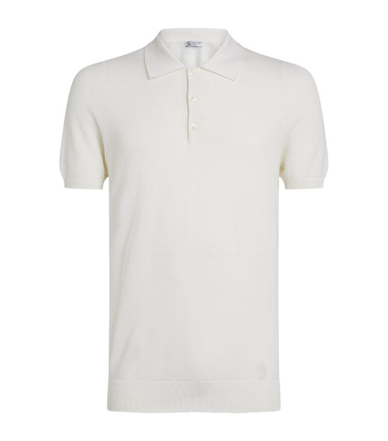 Johnstons Of Elgin Cotton Piqué Polo Shirt