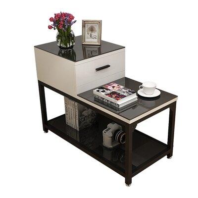 現代簡約客廳沙發邊櫃邊幾角幾邊桌臥室鋼化玻璃小幾扶手幾『xxs12787』