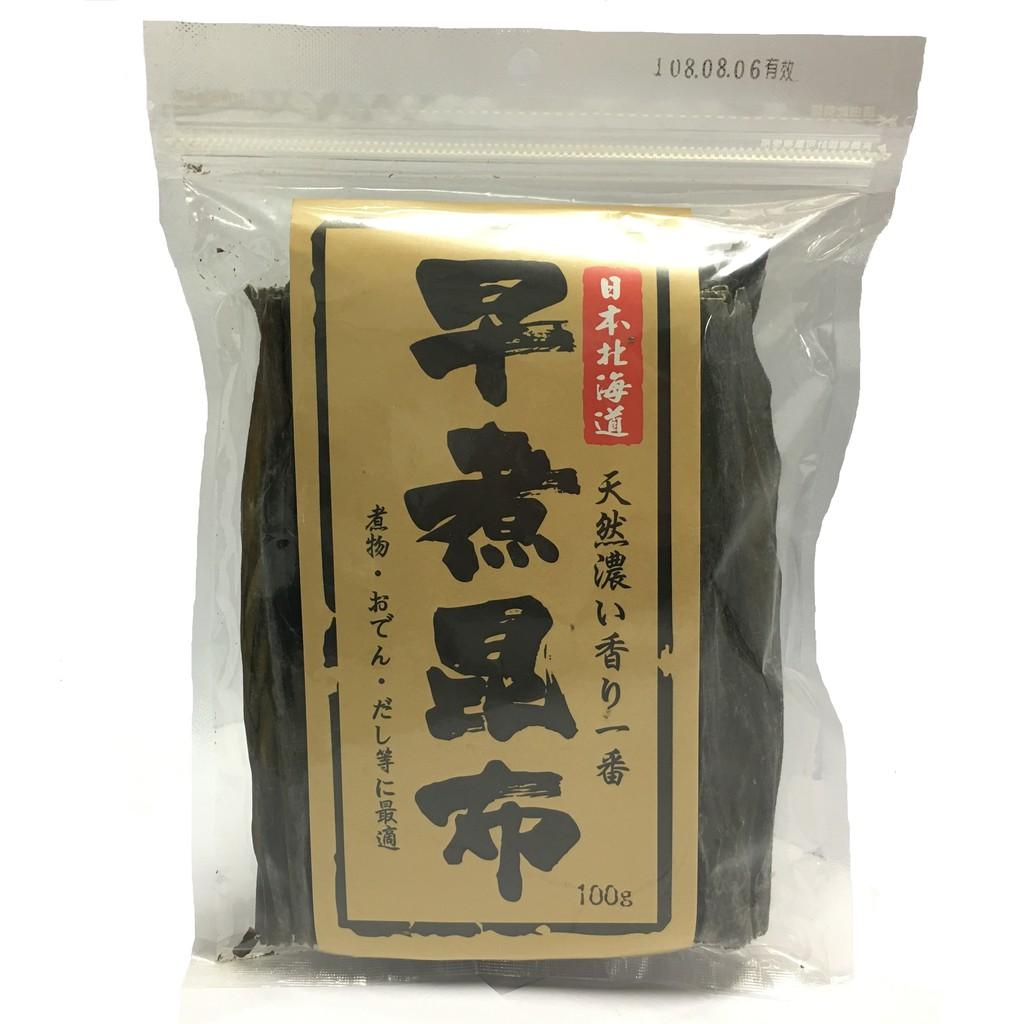【旺來旺】日本北海道早煮昆布 100g