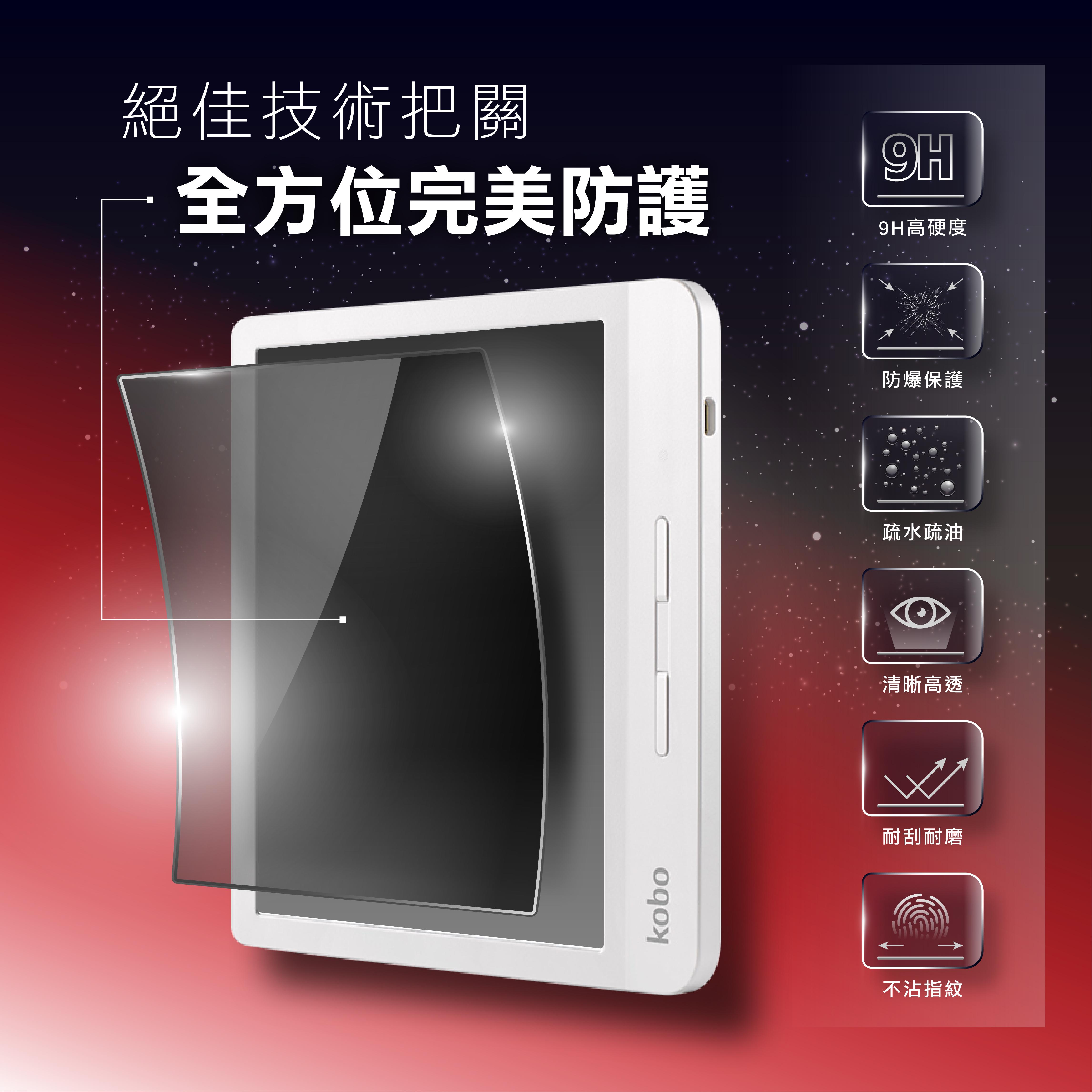 [現貨] Libra H2O 電子書閱讀器 7吋螢幕保護貼