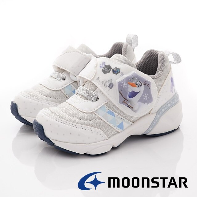 日本月星Moonstar機能童鞋迪士尼聯名系列冰雪奇緣電燈鞋款12711/719(中小童段)