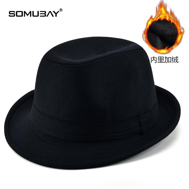 男士禮帽 爵士帽 老人禮帽男冬保暖中老年帽子老頭爺爺老年帽男士爸爸爵士帽
