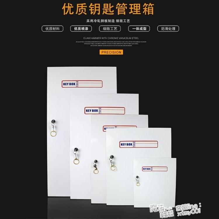 鋼鐵壁掛式鑰匙箱 120位房產中介鑰匙箱96位鑰匙盒汽車鑰匙箱 ATF