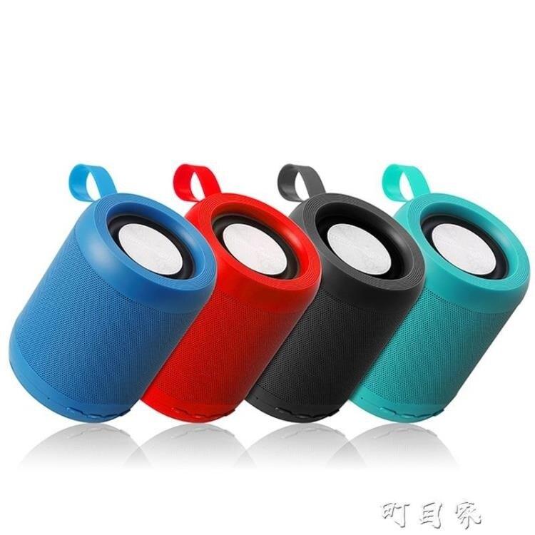 藍芽音箱音響戶外便攜插卡迷你圓柱低音炮小音響-盛行華爾街