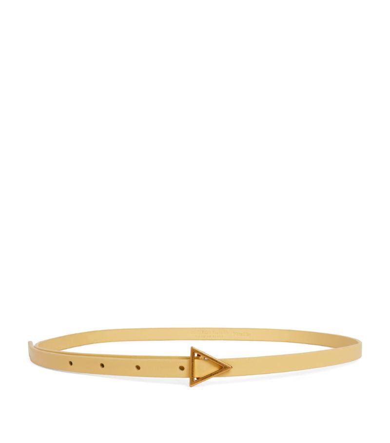 Bottega Veneta Leather Triangular Belt