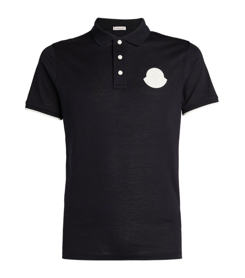 Moncler Cotton Logo Polo Shirt