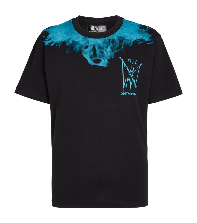 Mjb Marc Jacques Burton + Mortal Kombat Flame T-Shirt