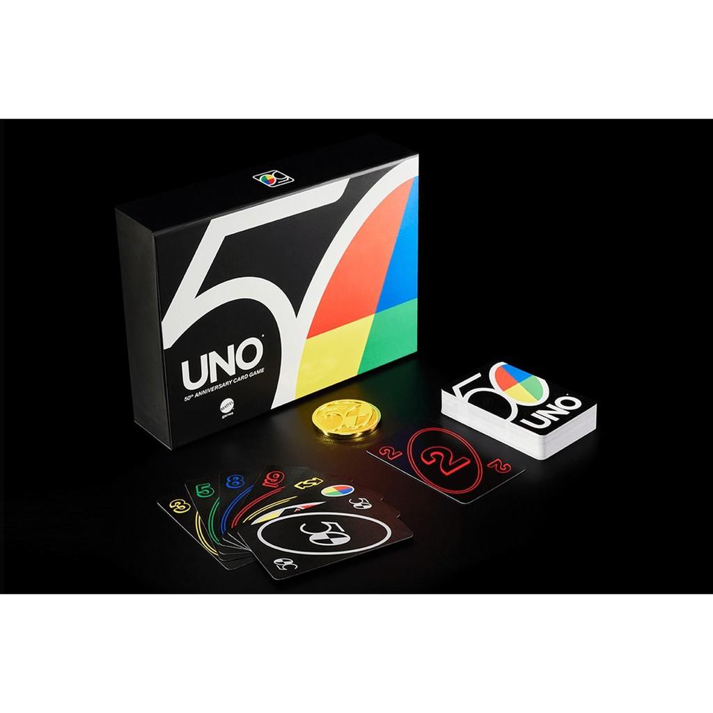 【陽光桌遊】UNO 50周年特別版 UNO 50th ANNIVERSARY 正版桌遊 滿千免運