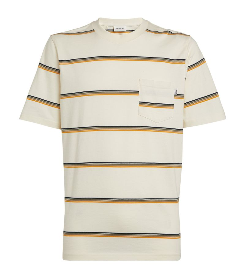 Wood Wood Striped Bobby T-Shirt
