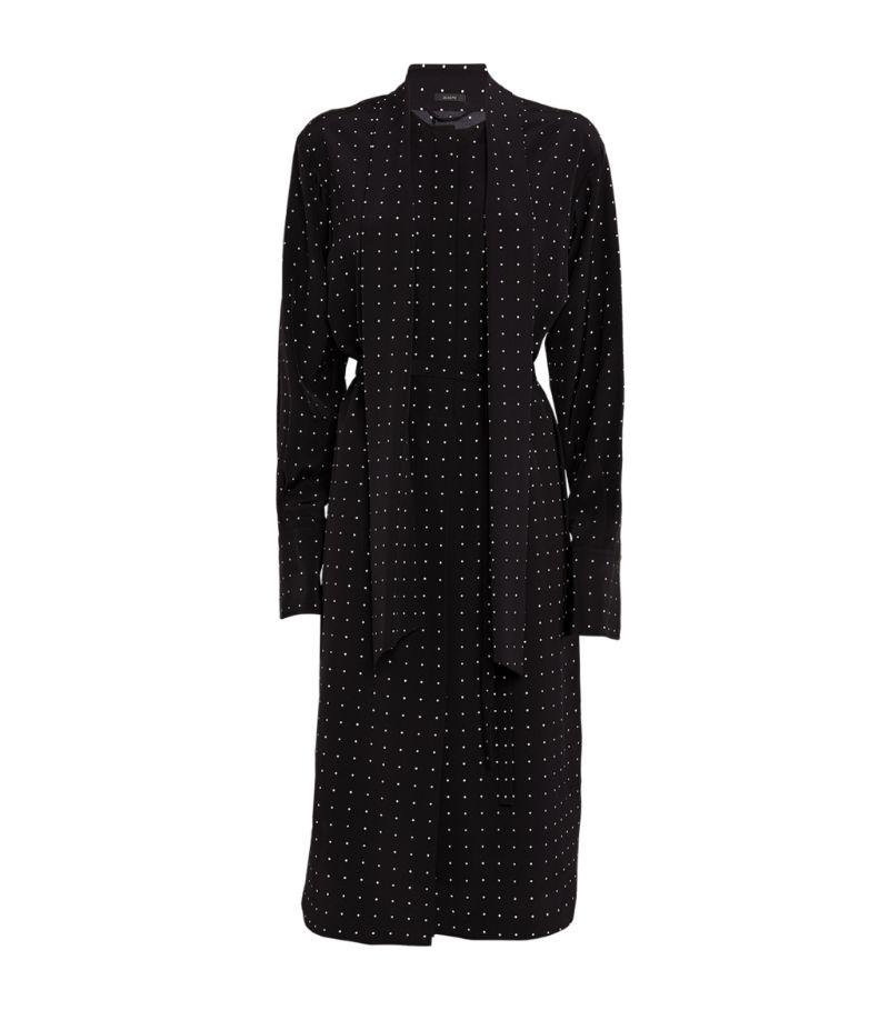 Joseph Polka-Dot Print Doriane Dress
