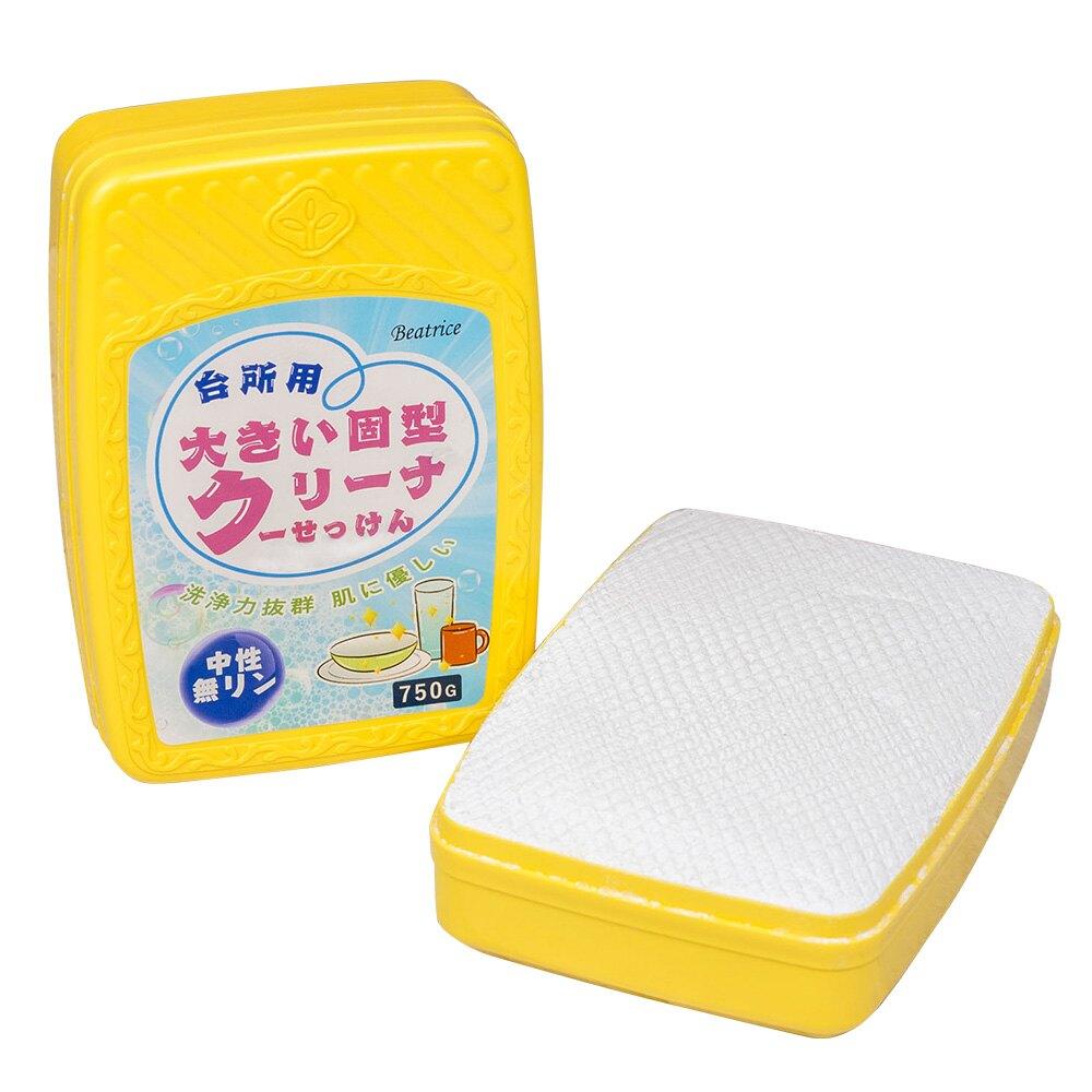 【Beatrice碧翠絲】無磷中性洗碗皂750g