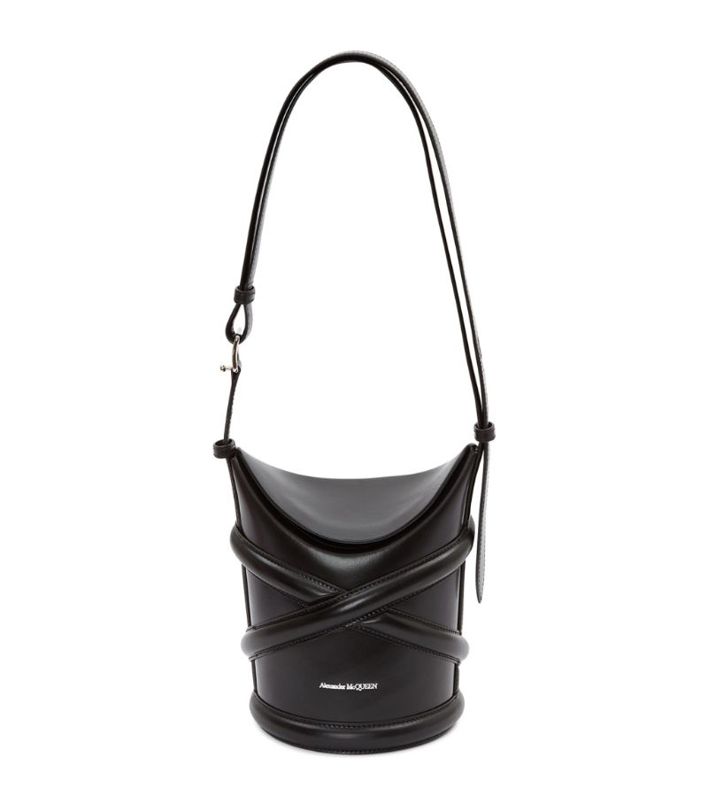 Alexander Mcqueen The Small Leather Curve Bag