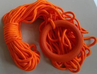 專業船上水上救生浮索繩漂浮繩反光繩發光導向繩引導繩