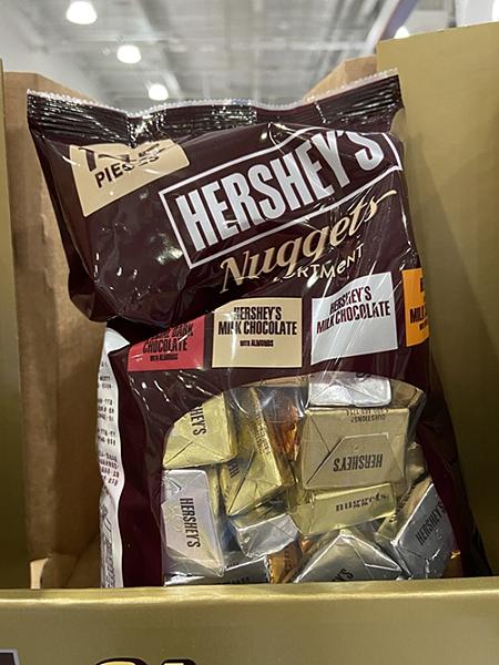 [COSCO代購] C600550 HERSHEY'S NUGGETS 綜合巧克力 1.47公斤