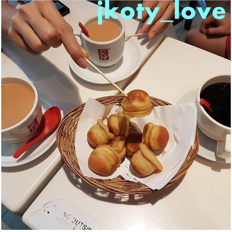 【】數顯版翻轉華夫爐馬來西亞美食kaya ball 咖椰醬巖石球電餅檔設備