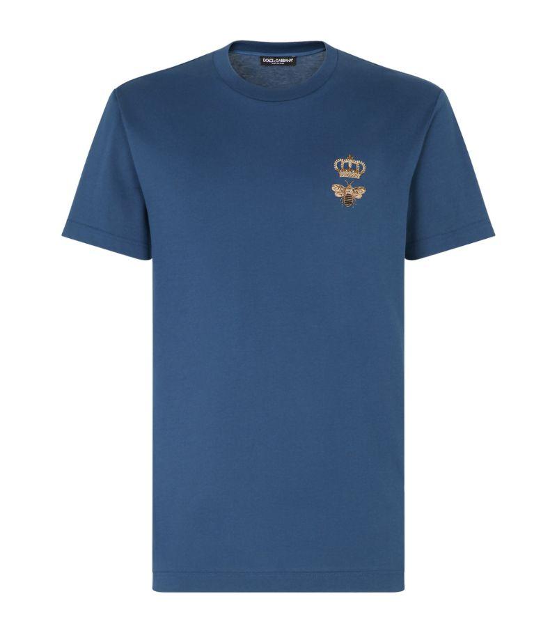 Dolce & Gabbana Bee-Embroidery T-Shirt