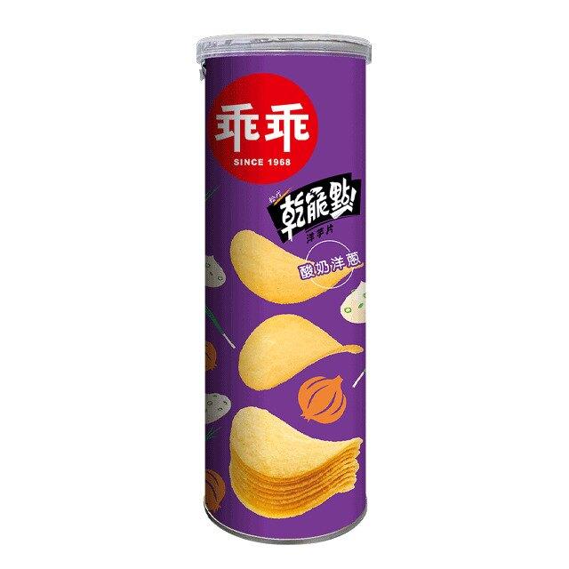 乖乖乾脆點洋芋片-酸奶洋蔥110g 【康鄰超市】