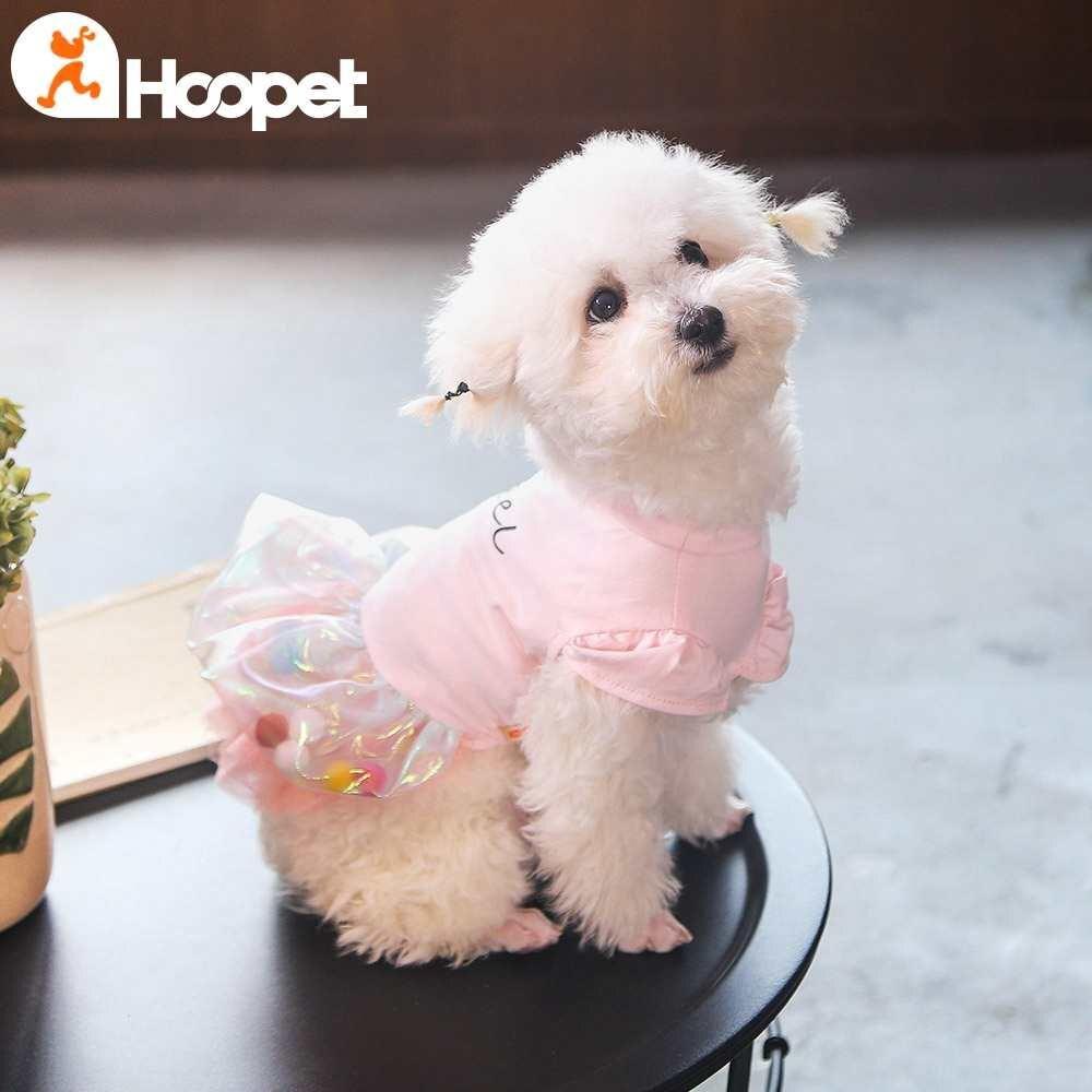 小狗狗衣服公主裙子泰迪比熊博美夏装薄款宠物韩版夏季蓬蓬背心裙