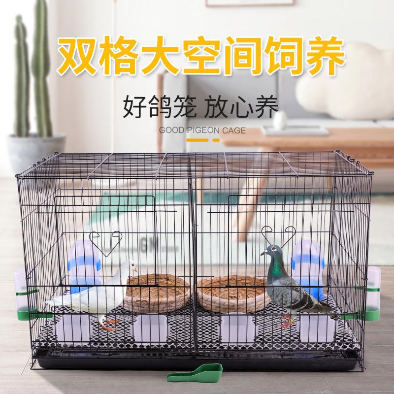 熱銷鴿子籠家用大號特大鴿籠鵪鶉養殖繁殖配對籠陽臺養信鴿籠子巢箱