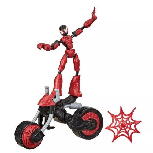 《 孩之寶 HASBRO》MARVEL  漫威超可動系列蜘蛛人+載具組 東喬精品百貨