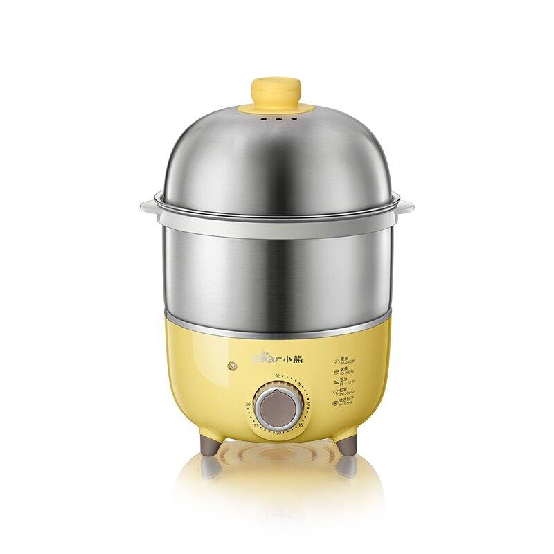 煮蛋器自動斷電家用迷你蒸蛋器雙層燉蛋蒸蛋羹不銹鋼定時神器