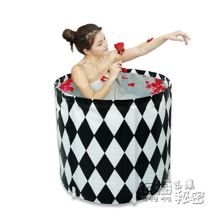 可摺疊泡澡桶大人洗澡沐浴桶家用浴缸浴盆大號加厚女全身熏蒸泡澡【天天特賣工廠店】