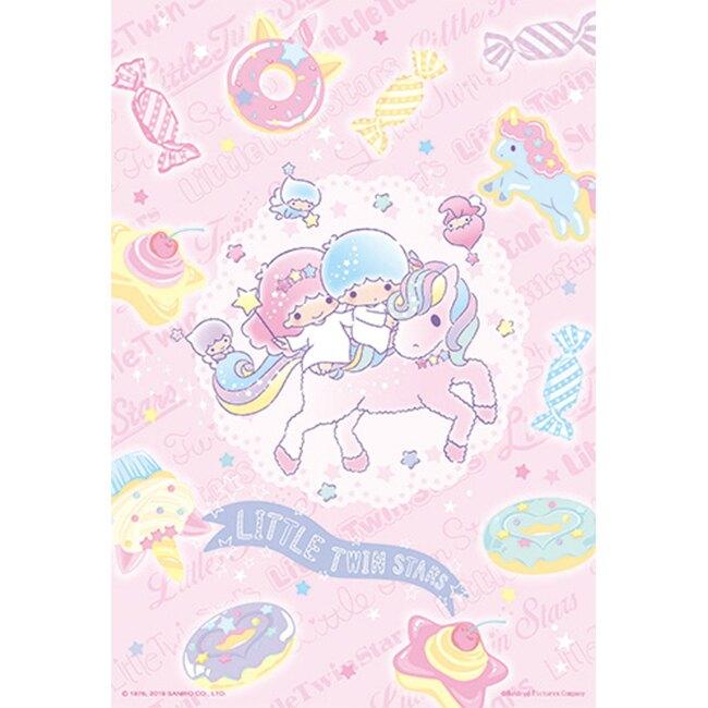 【P2 拼圖】LittleTwinStars粉彩甜點拼圖(300pcs)(38x26) HP0300S-154