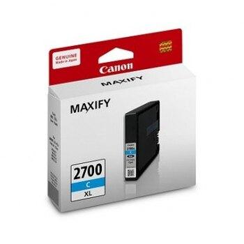 618購物節佳能 CANON 藍色高容量原廠墨水匣 / 盒 PGI-2700XL C