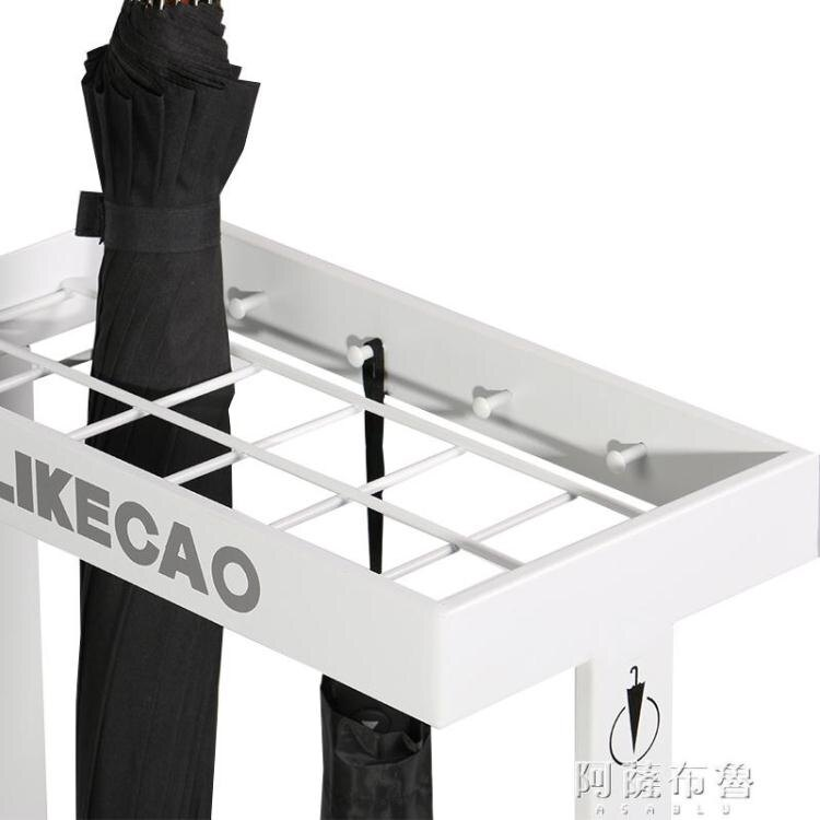 雨傘架 LIKECAO美式簡約雨傘架家用辦公超市銀行 【簡約家】