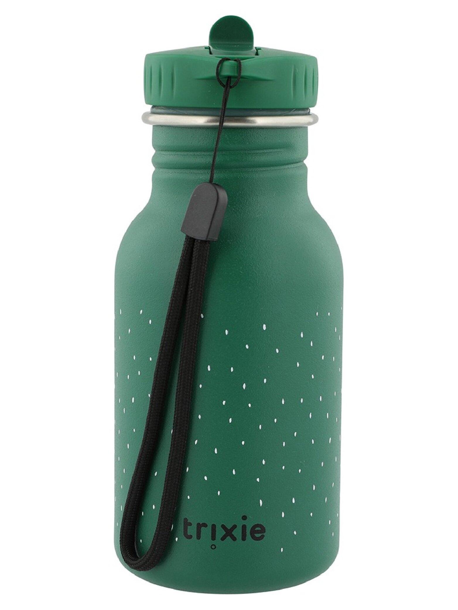 比利時 Trixie 動物愛喝水隨身瓶350ml-開心鱷魚【母親節推薦】