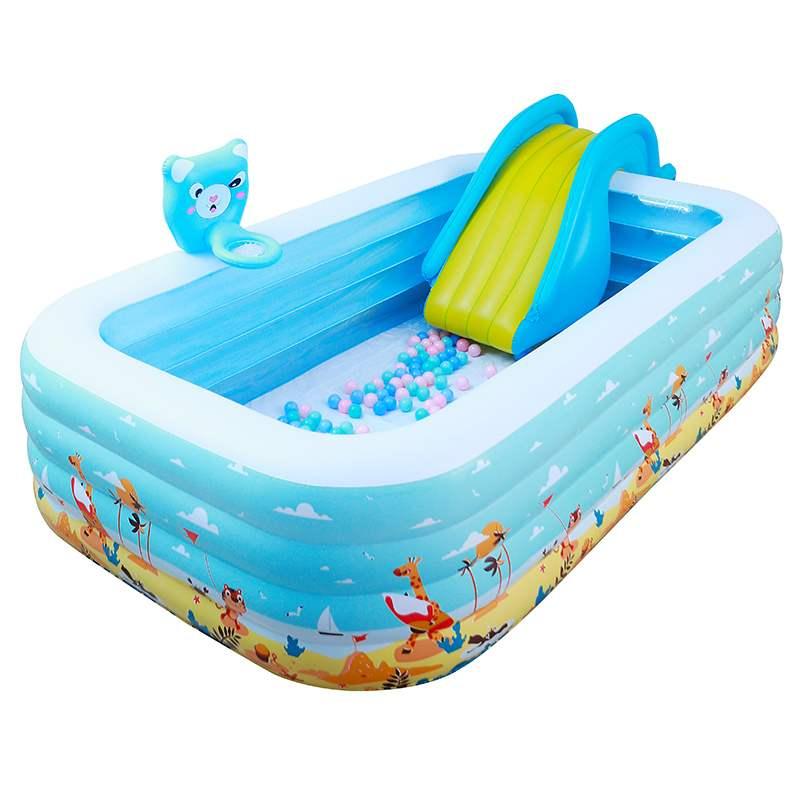 游泳池加厚超大型嬰兒寶寶折疊桶小孩室內家庭戲水池