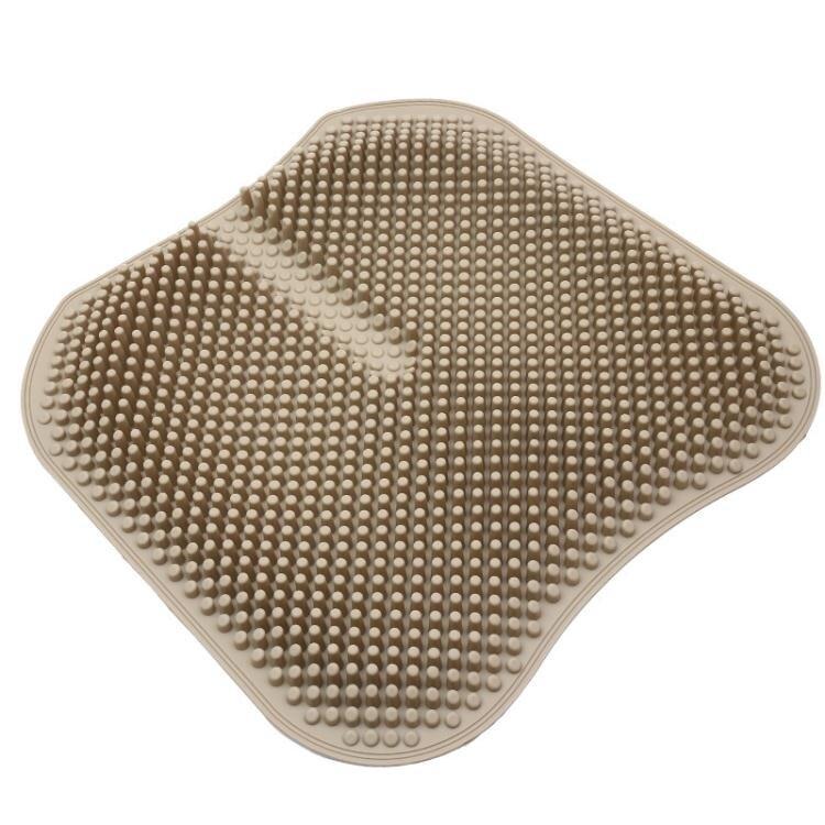 涼墊 汽車坐墊夏季通用單片無靠背涼墊通風透氣按摩辦公座墊