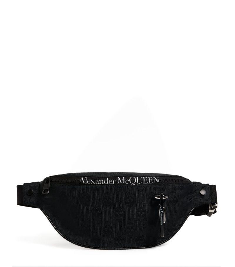 Alexander Mcqueen Biker Skull Belt Bag