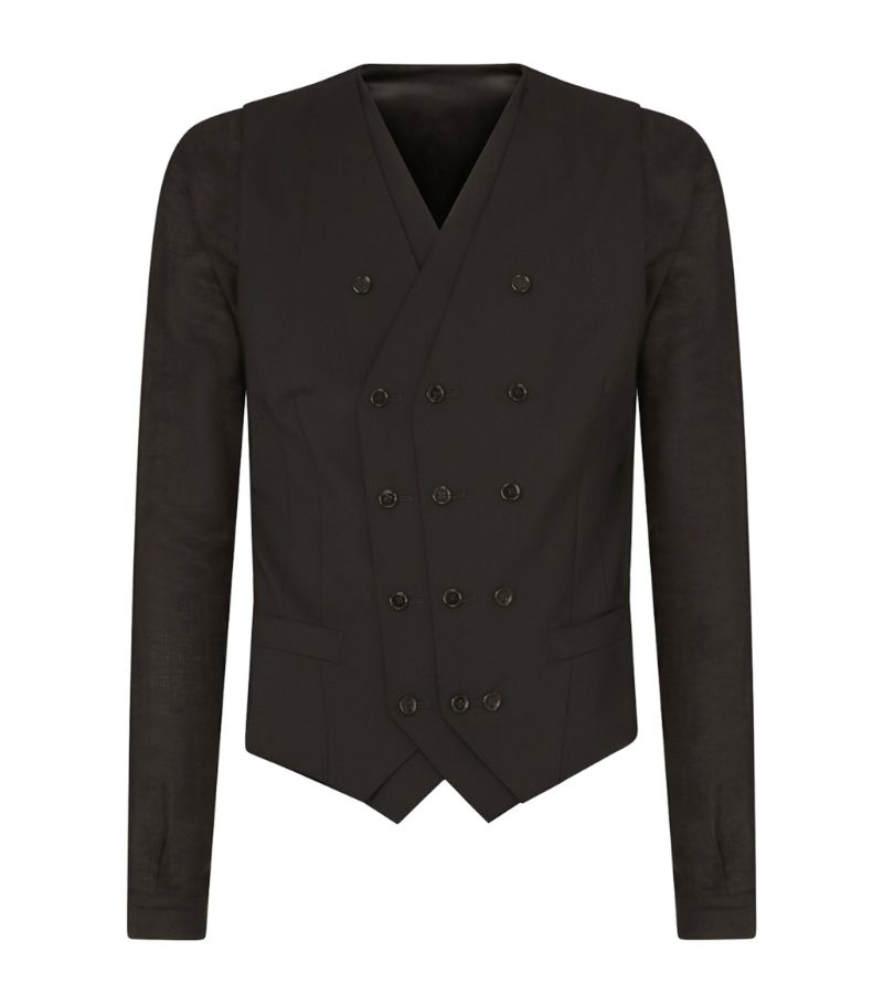 Dolce & Gabbana Double-Breasted Shirt
