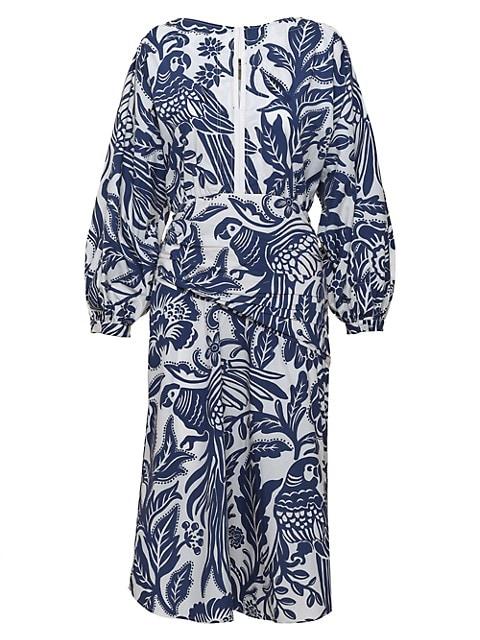 Eternal Belonging Full-Sleeve Midi Dress