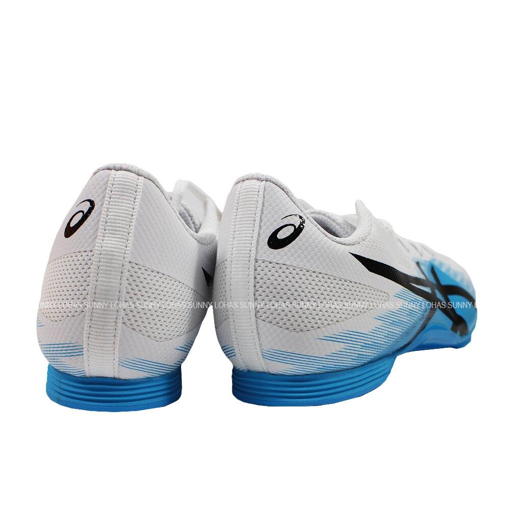 【領券最高折$430】(C1) ASICS 亞瑟士 HYPER MD 7 男女 田徑鞋 1091A018-402 藍X白【陽光樂活】