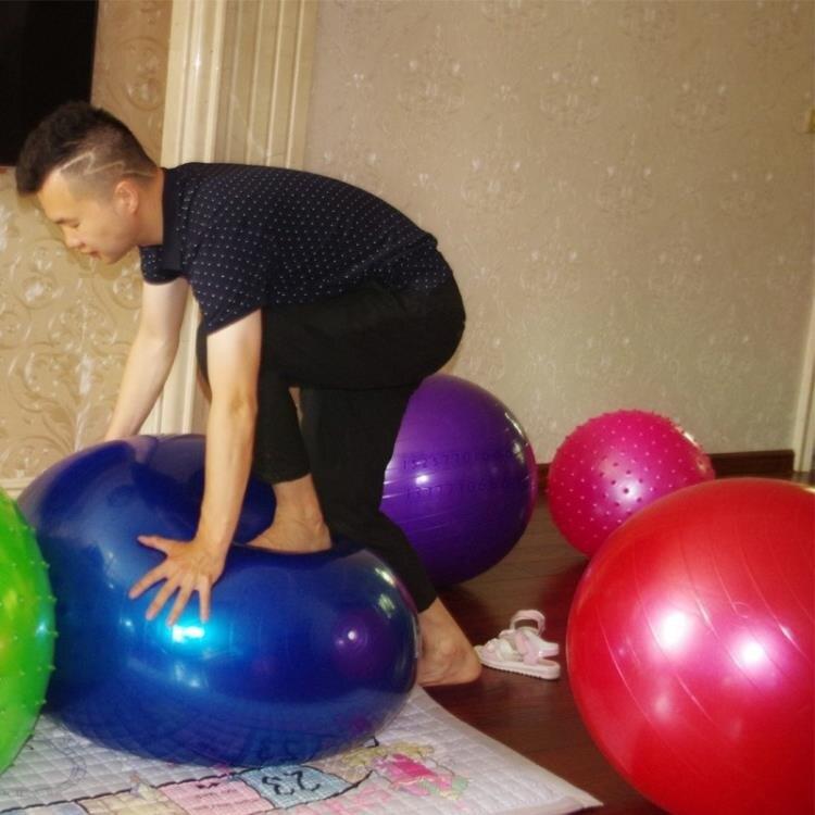 兒童充氣皮球大號彈力球幼兒園寶寶拍拍球玩具嬰兒大球健身瑜伽球