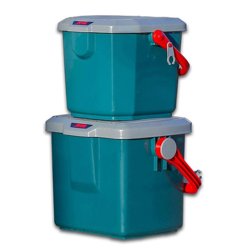 愛麗思IRIS  零食儲物箱車載收納箱工具整理箱汽車用品后備現場箱