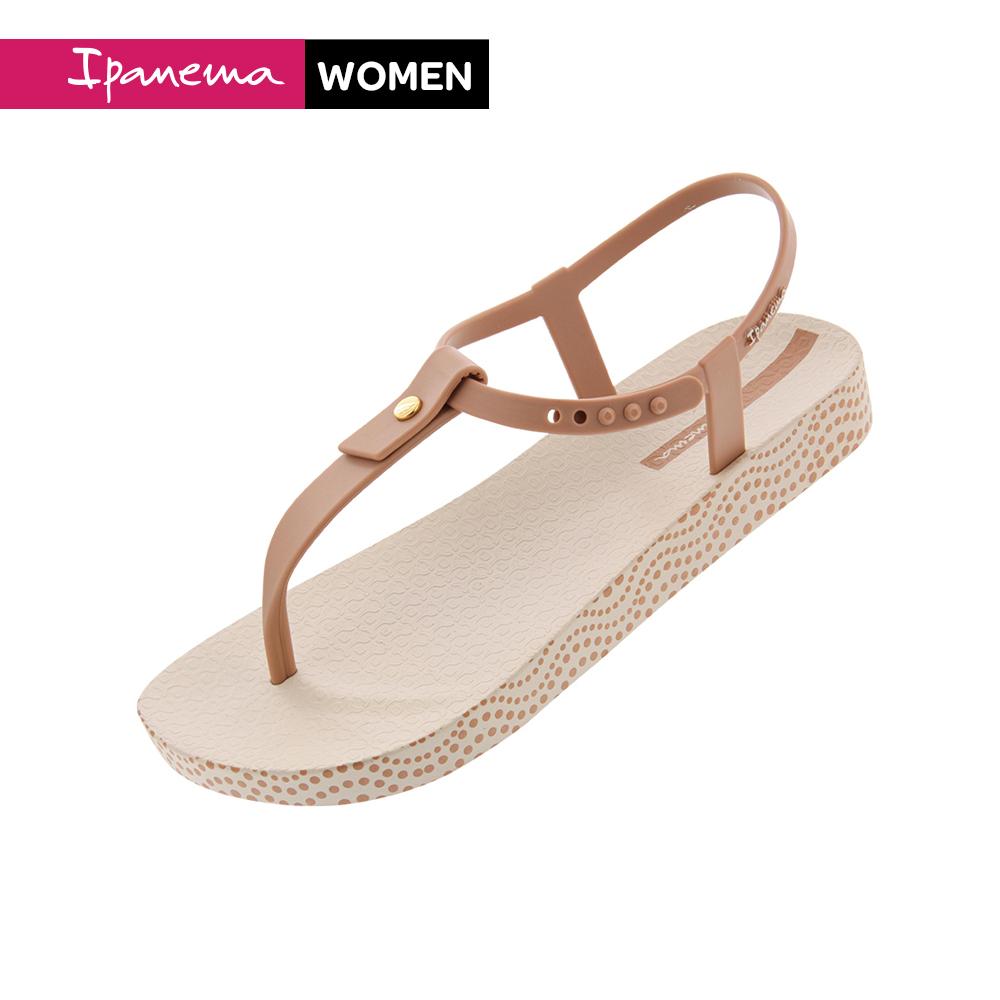 Ipanema [Women] BOSSA SOFT扣飾T字涼鞋 米(IP8287620762)