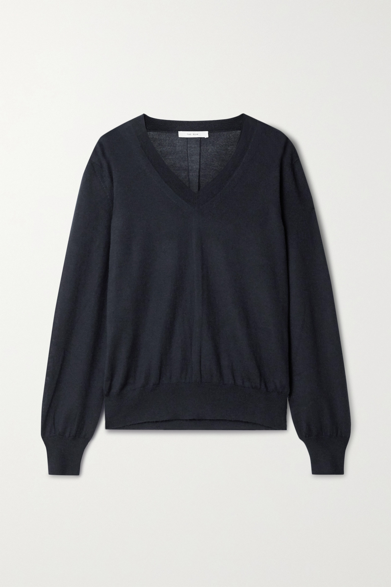 THE ROW - Stockwell Cashmere Sweater - Blue - small
