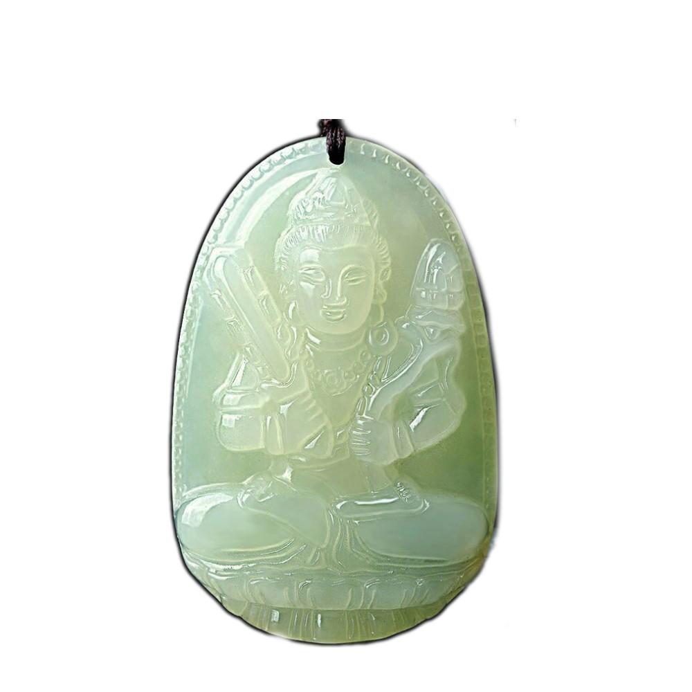 【十方佛教文物】大日如來 阿富汗青玉項鍊(平安財運順利)