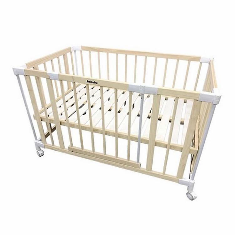 預購4月底出貨 日本 BABUBU 七合一多功能成長型嬰兒床 含桌面、固定帶 加贈專用床墊