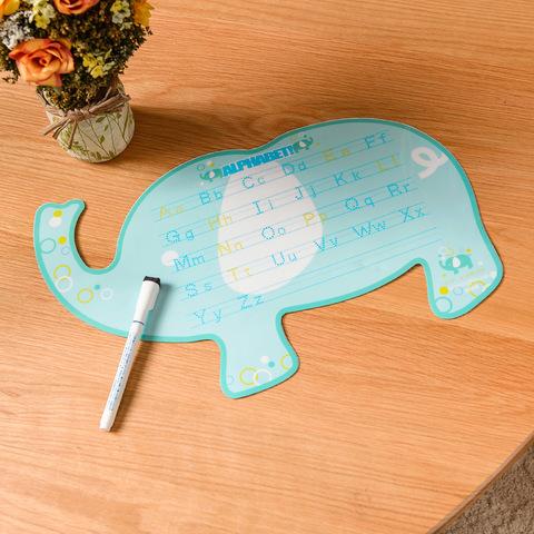 泡泡大象KIDS繪圖學習板(附白板筆)