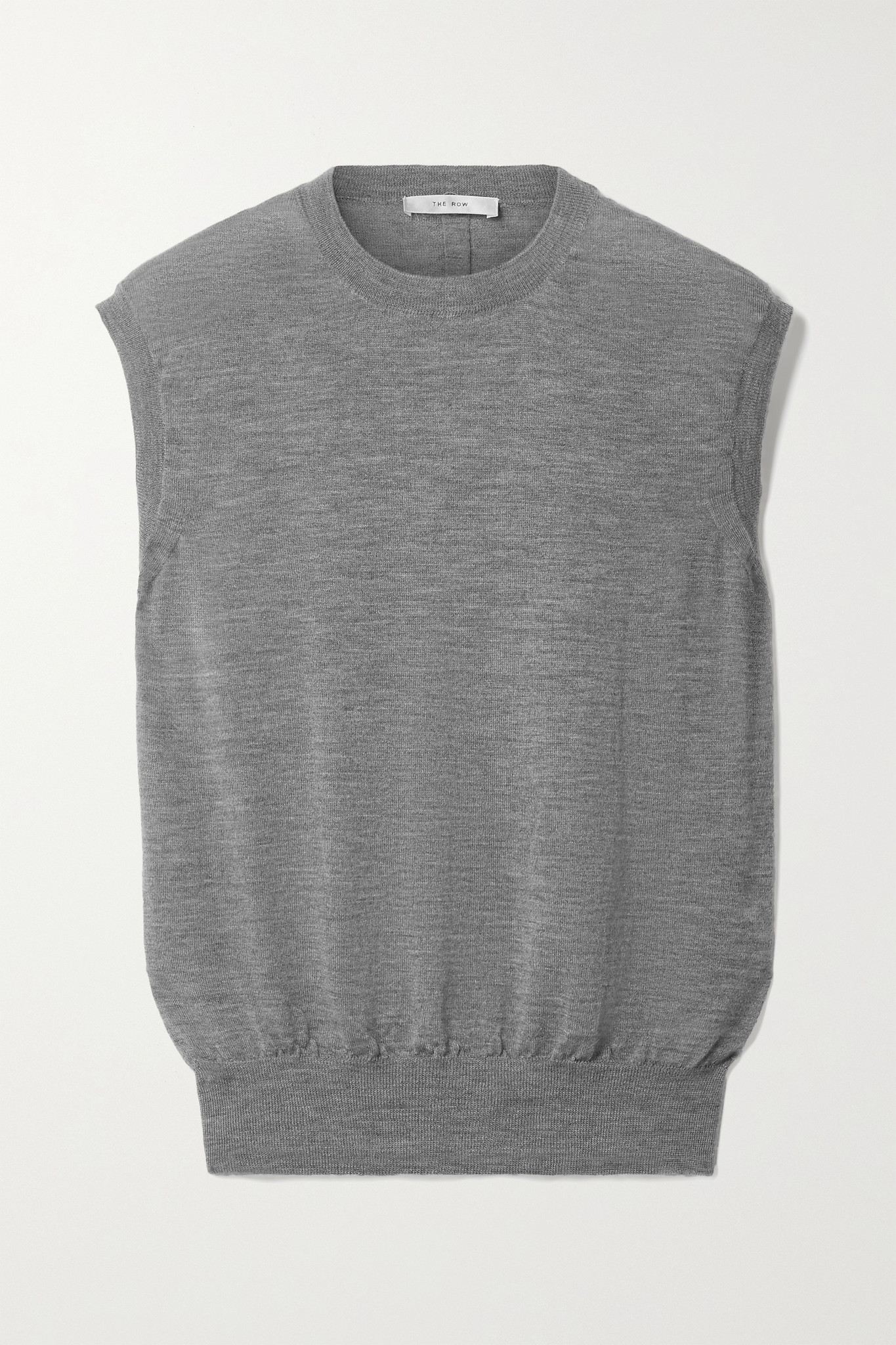 THE ROW - Balham Cashmere Top - Gray - large