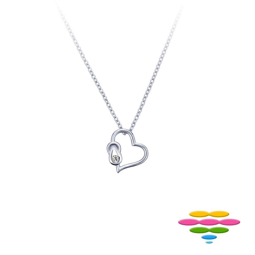 Caramelo 彩糖鑽工坊 輕珠寶 愛心鑽石項鍊