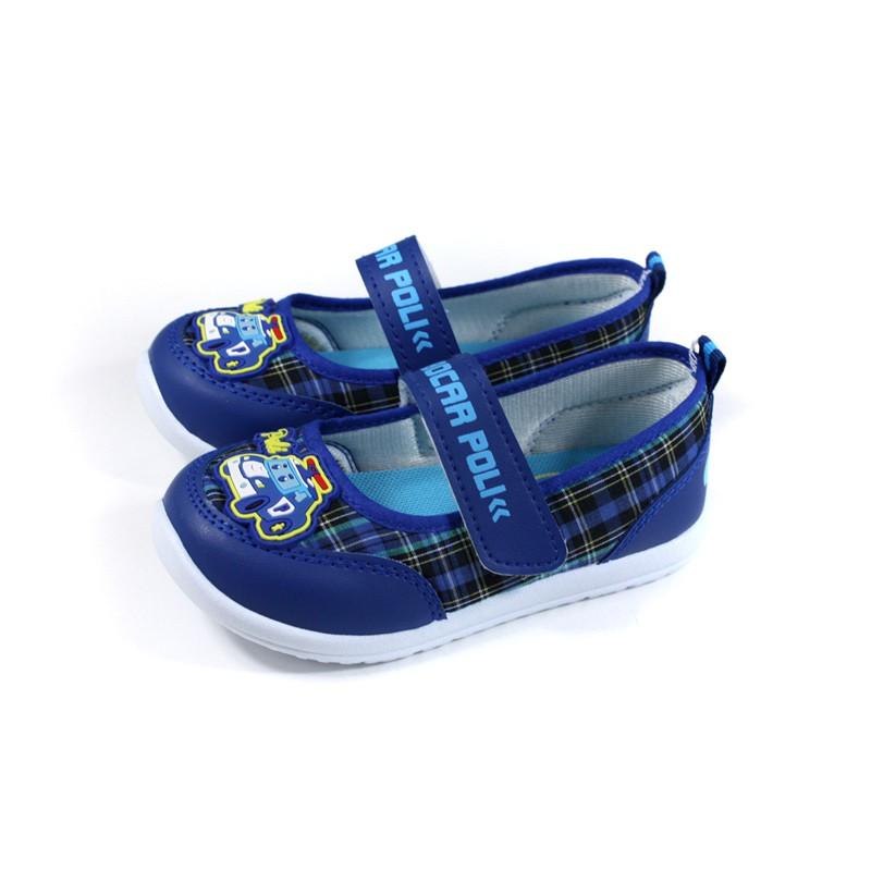 POLI 波力 救援小英雄 室內鞋 娃娃鞋 藍色 中童 童鞋 POKP10506 no755